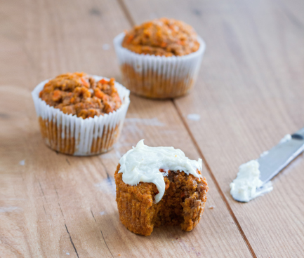 healthy carrot cupcake recipe