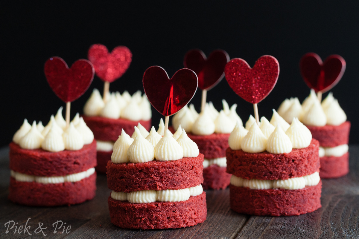 Recept voor mini red velvet cakejes