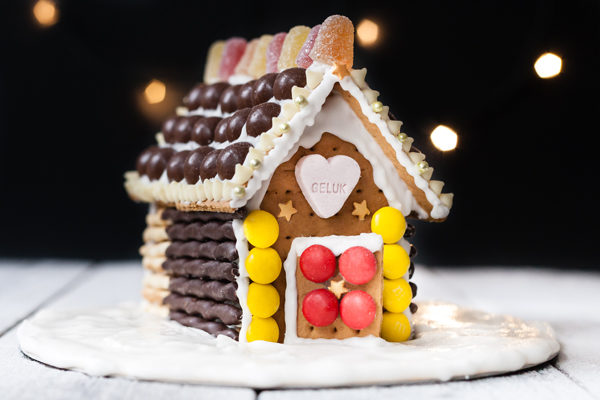 Gingerbread huisje workshop