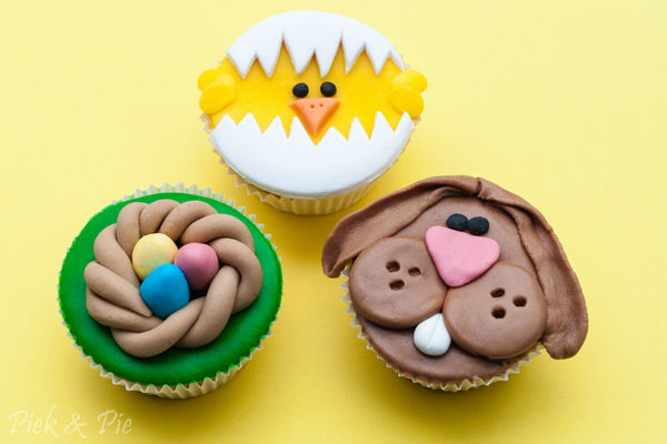 Workshop cupcakes decoreren voor Pasen